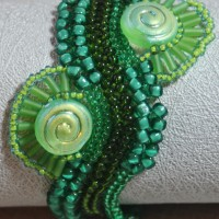Green River Bracelet by Amanda Crago of Bowerbird Jewellery