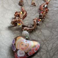 sea queen Pearl Necklace by Amanda Crago of Bowerbird Jewellery
